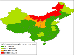 China Coal Plants by Province_1H2014